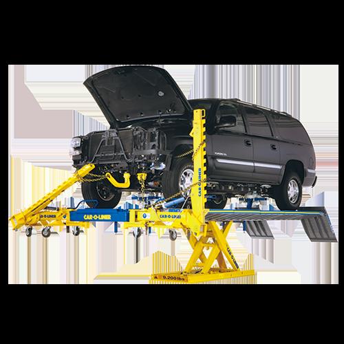 CAR-O-LINER ベンチ式フレーム修正機 ベンチラック/BR5000・BR5500